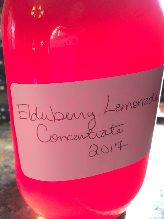 elderberry lemonade concentrate