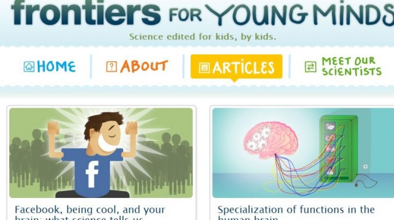 New neuroscience journal is edited by kids, for kids