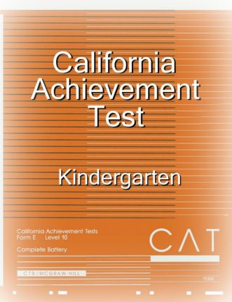 Homeschool 101: What is the California Achievement Test?