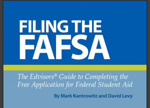 Bestselling FAFSA financial aid book offered free in Kindle, PDF or ePub format
