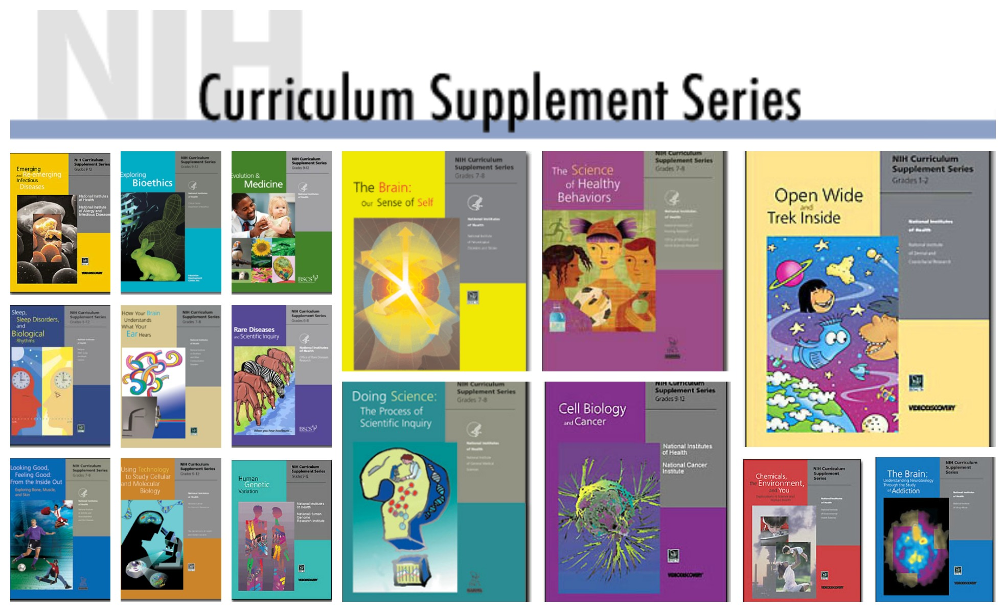NIH offers science curricula FREE online or through the mail