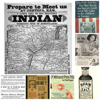 Free vintage ads help bring history to life