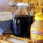 Natural recipes: Elderberry honey syrup