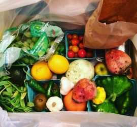 Azure Standard's Organic Fruits and Veggies Box