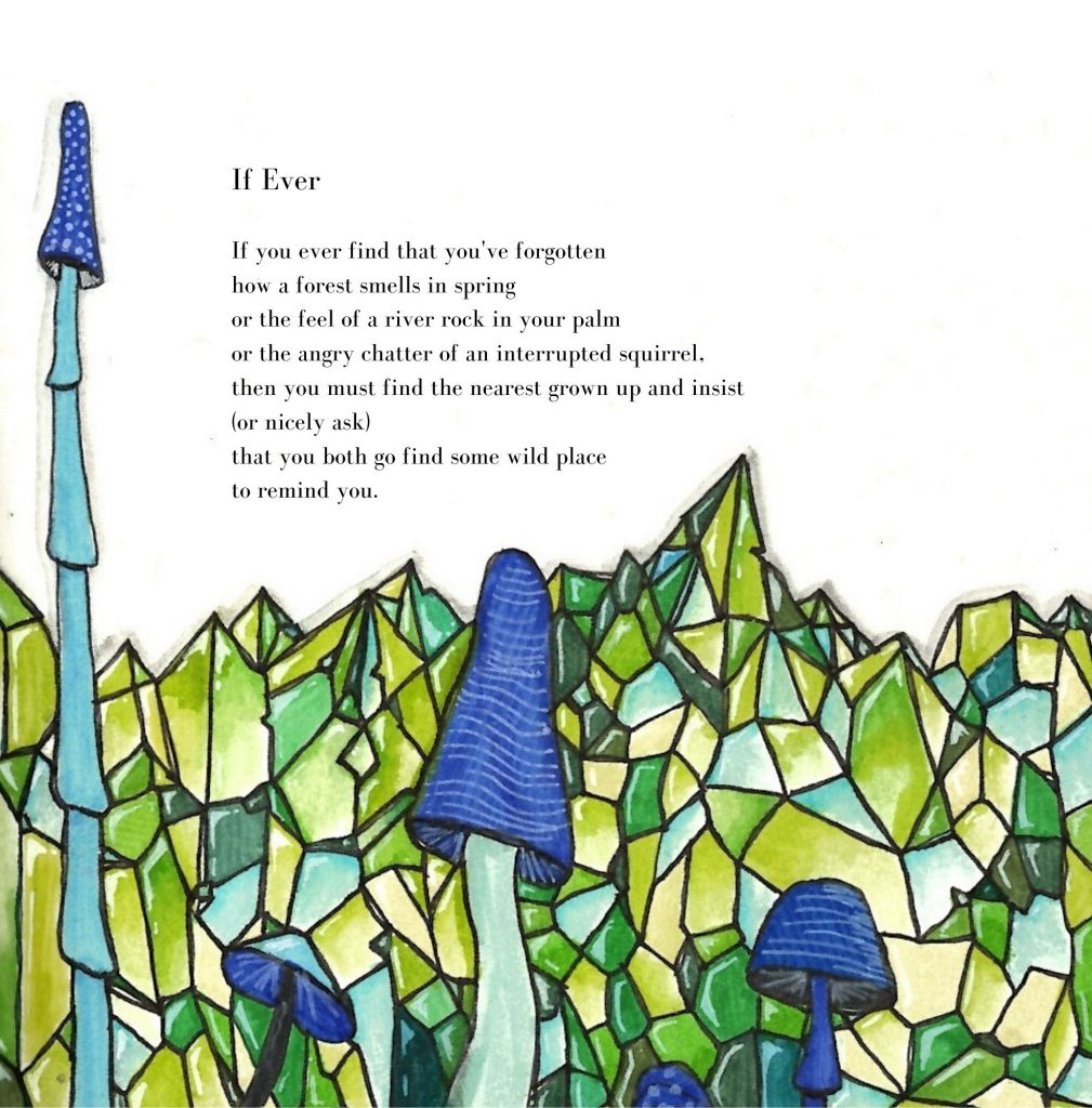 If Ever (From Poems from Under a Toadstool by Alicia Bayer, Illustrated by Rhiannon Bayer)