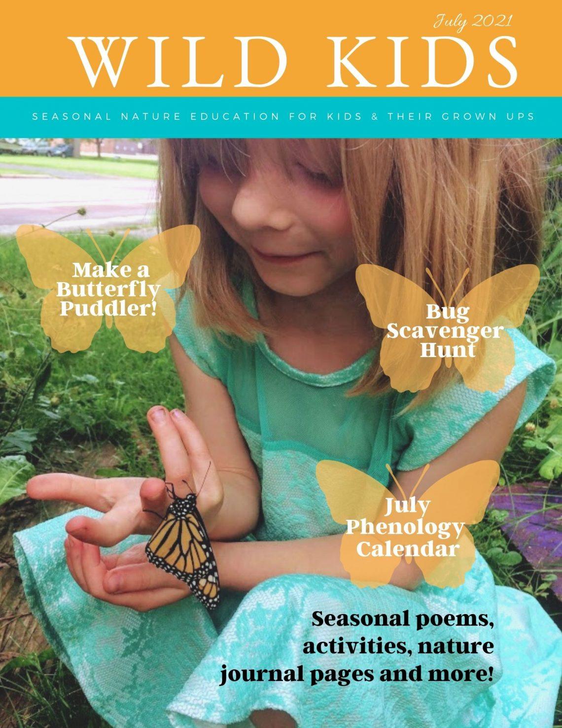 cover of July 2021 Wild Kids Magazine