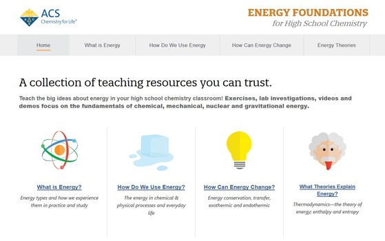 ACS offers free high school energy curriculum