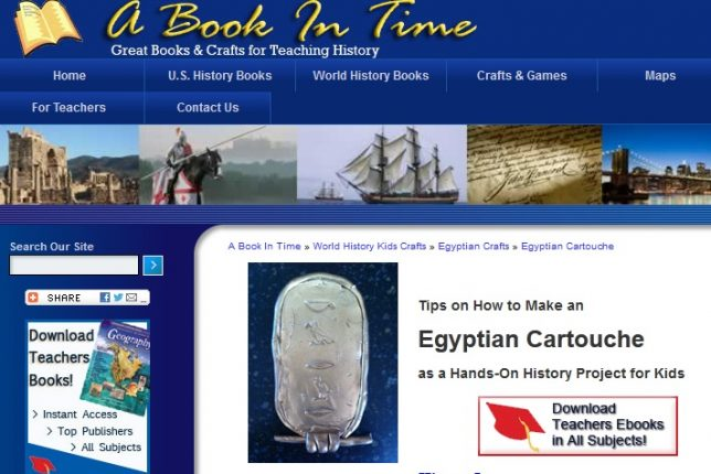 Read and craft your way through history!