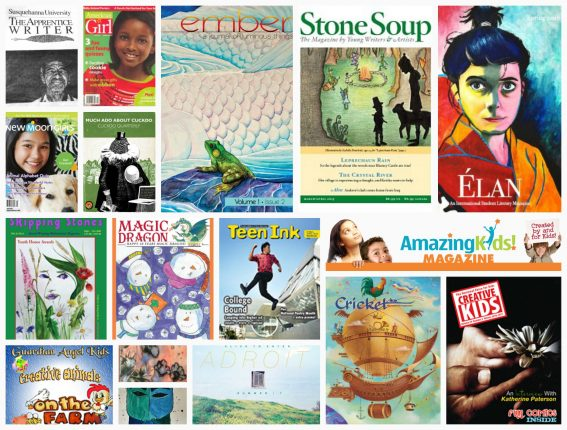 18 Magazines that publish art and writing by kids and teens