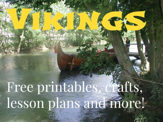Viking homeschool! Free printables, crafts, lesson plans and more