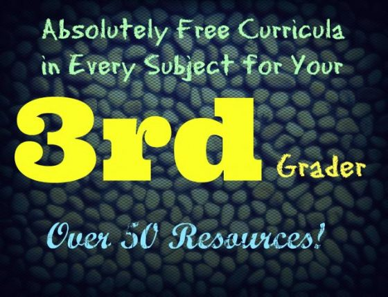 Free curricula in every subject for your 3rd grader
