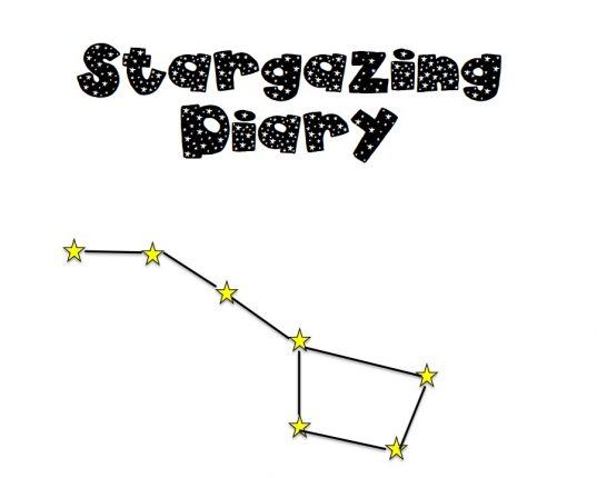 FREE printable stargazing diary