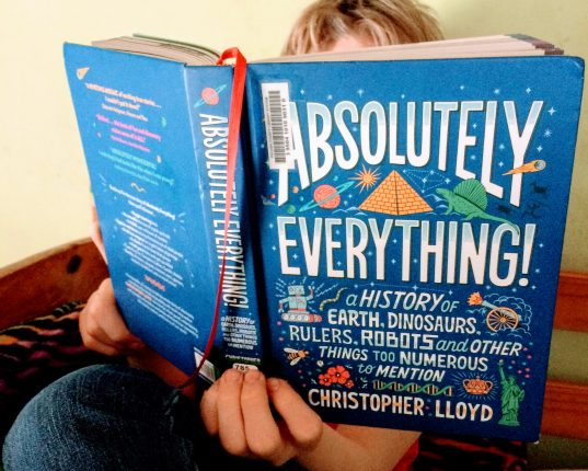Absolutely Everything!: A History of Earth, Dinosaurs, Rulers, Robots and Other Things Too Numerous to Mention (Review)