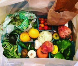 Azure Standard's Organic Fruits and Veggies Box