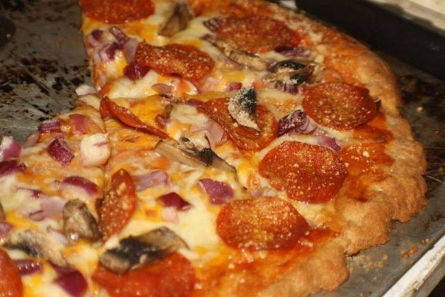 Gluten free pizza crust from scratch